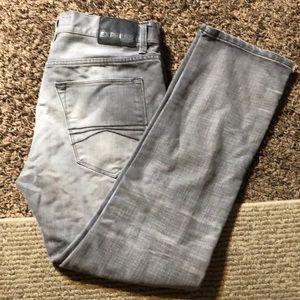 Express jeans 32x30 grey slim skinny pants BOGO